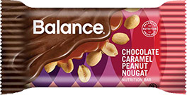 Image of Chocolate Caramel Peanut Nougat packaging