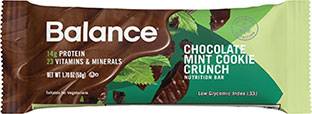 Image of Chocolate Mint Cookie Crunch packaging