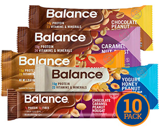 Image of Balance Peanut Lover's Variety 10-Pack packaging